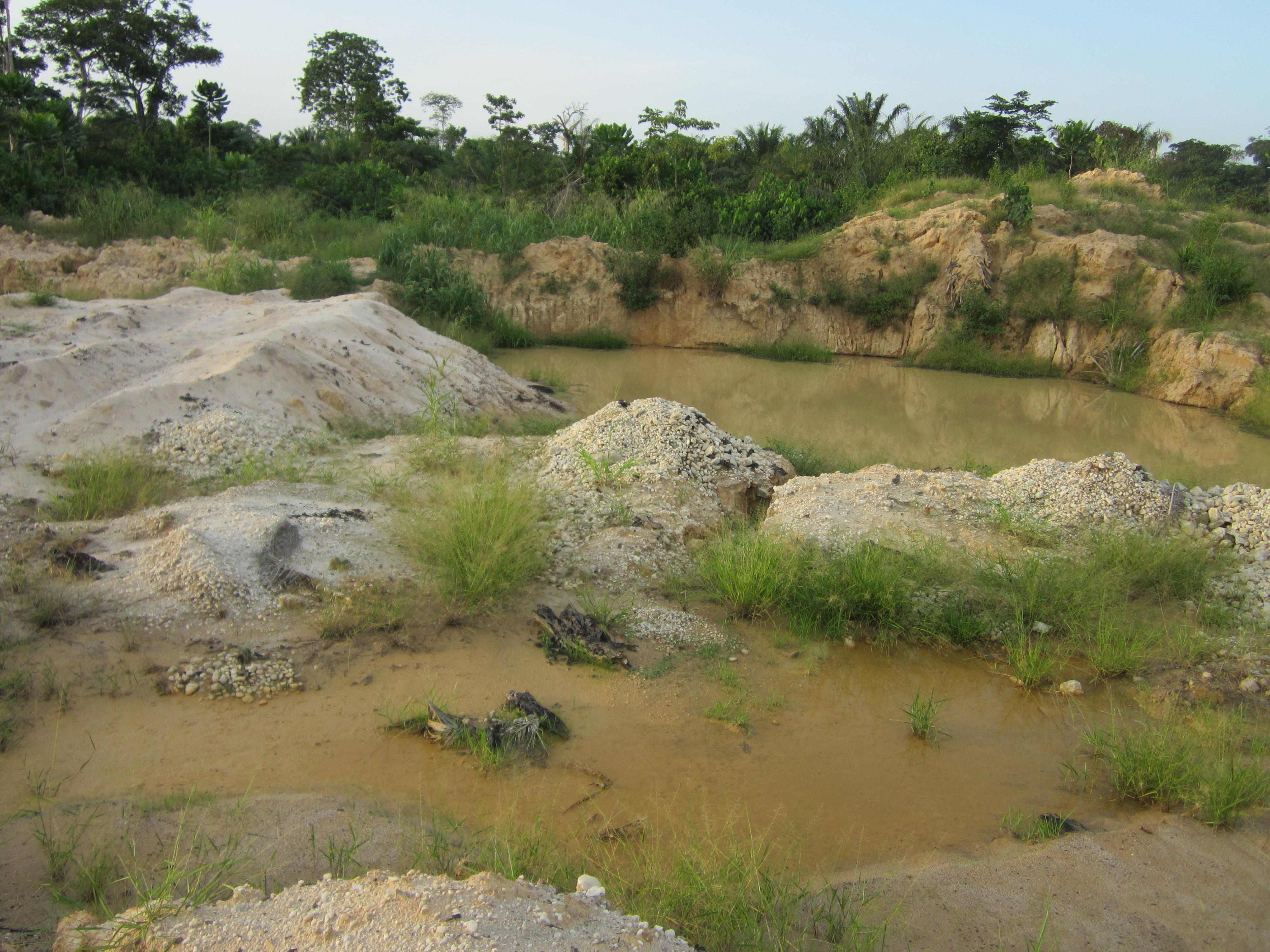 加纳采金业有感3