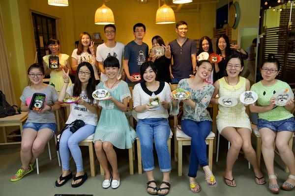 ss青年空间第一次与半城网合作举办的美食DIY,一起来捏饭团