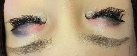 <眼妆>黑粉配,新发色呦