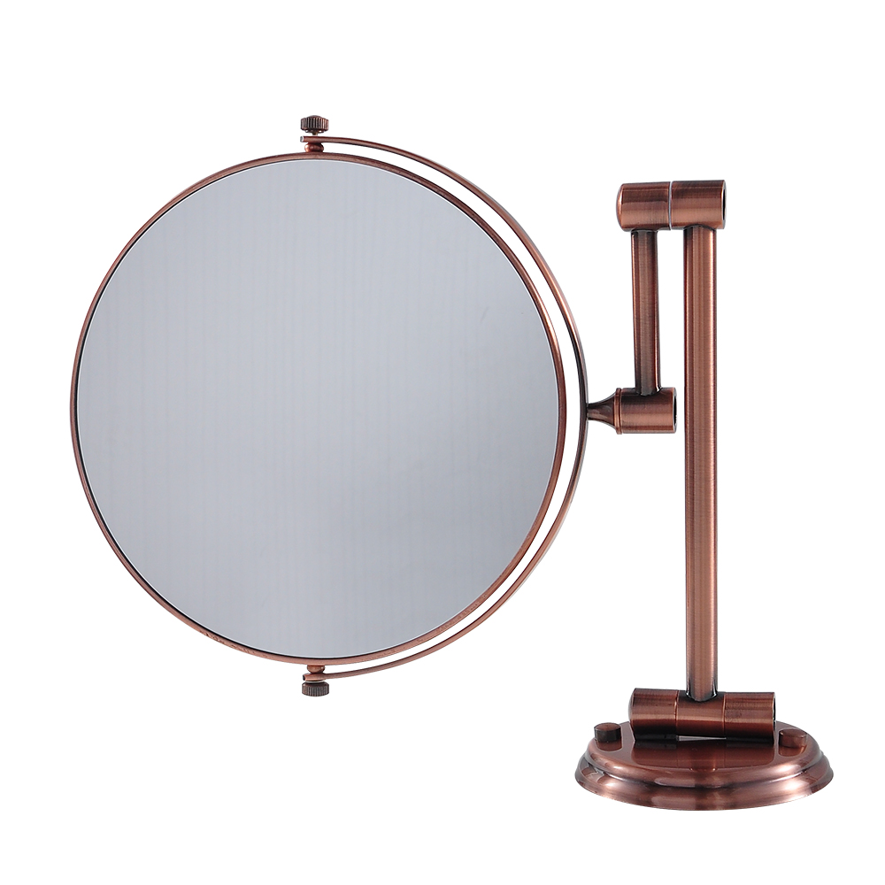 Bathroom beauty makeup cosmetic shaving dual side Bathroom magnifying mirrors wall mounted