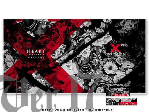 Web设计系列作品《城市心情》Ver.17