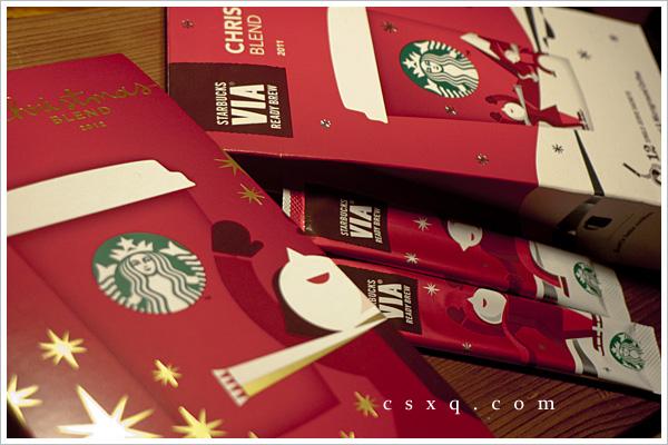 圣诞咖啡香~就在星巴克