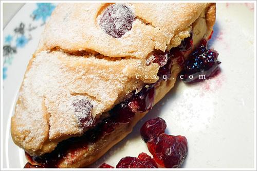 午后的甜蜜@蜂蜜蔓越莓司康饼