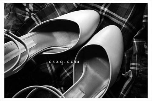 美鞋记3@绑带小白鞋