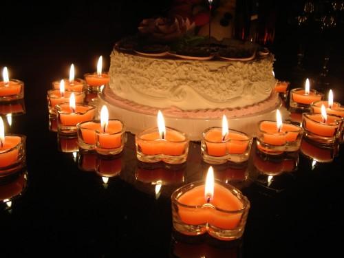 人节 求爱求婚表白蜡烛 浪漫玫瑰香恋家心形玻璃杯蜡烛香薰蜡烛 中