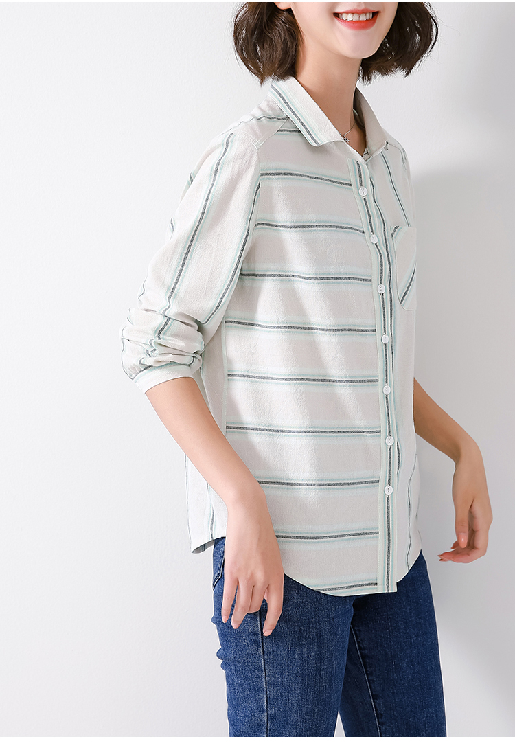 雪纺衬衫女长袖衬衣