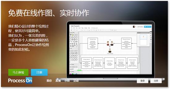 Ejb95 ProcessOn: 在线流程图制作和团队实时协作工具 @分享网络2.0  盗盗