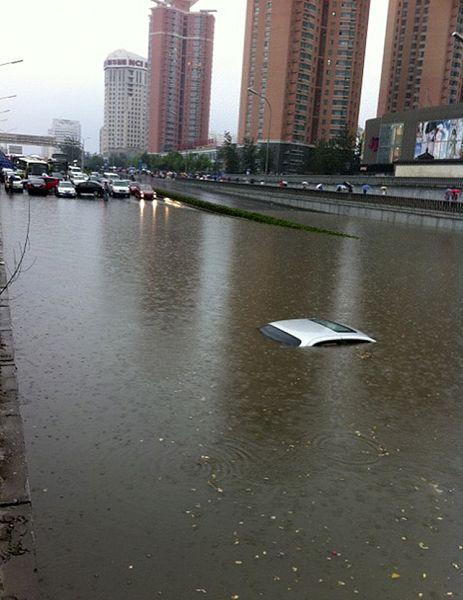 6.23 北京恐怖暴雨最震撼瞬间 - 范荣 - 范荣的博客