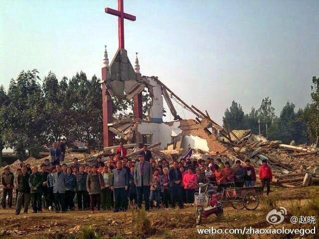 什么 知道/:一个有形的十字架被拆,一万个无形的十字架建立起来;一间有...