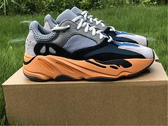 原装版Yeezy700灰蓝橙配色编号GW0296全码出货3648