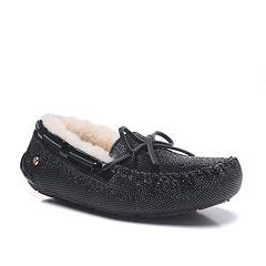UGG 新款1901818 黑色豆豆鞋 尺码35-40