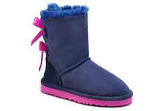 ugg1002954海军蓝童鞋号码27-35(3280蝴蝶结童鞋