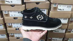 ugg5888新款编织男鞋黑色现货US814