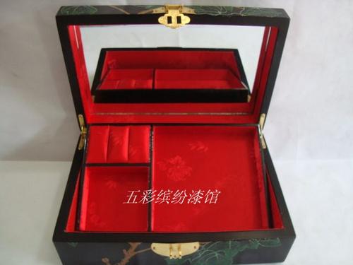 饰盒 珠宝盒 收纳盒 纯手工木制礼品