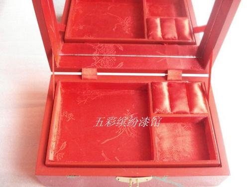 饰盒 珠宝盒 收纳盒手工木制结婚礼品