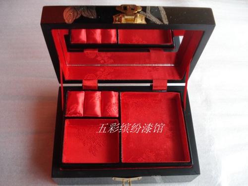 首饰盒珠宝盒收纳盒手工木制高档结婚礼品
