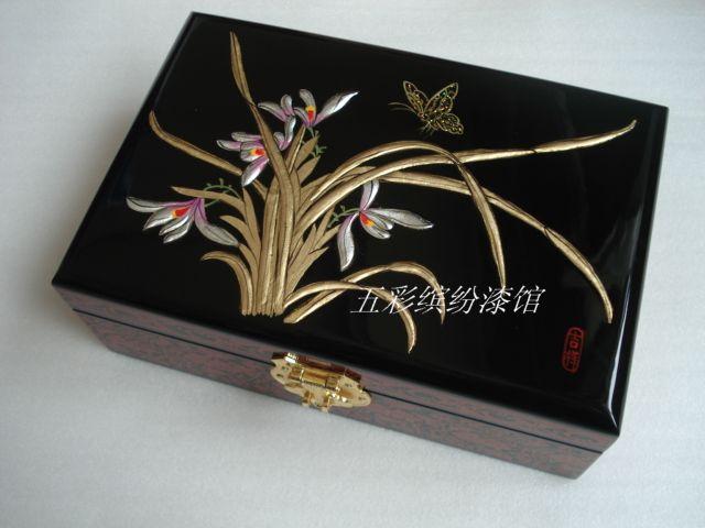 首饰盒 珠宝收纳盒木制手工高档礼品