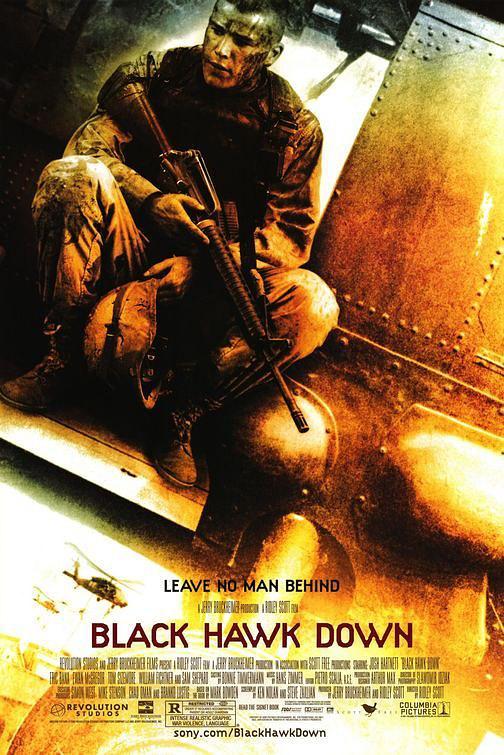 电影海报-《黑鹰坠落》