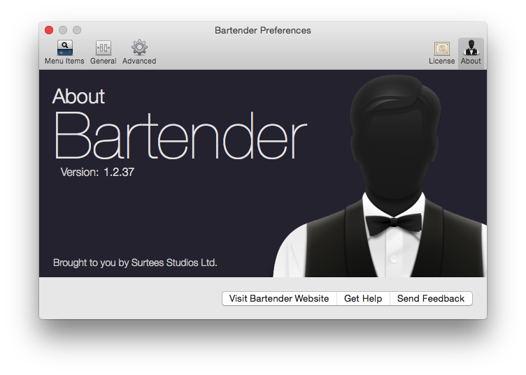Bartender-管理你的菜单栏图标项