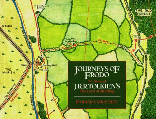 弗罗多的旅程:芭芭拉·斯特雷奇(Barbara Strachey)为J.R.R.托尔金的《指环王》绘制的地图