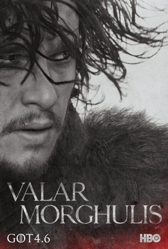 """高等瓦雷利亚语短语""""Valar Morghulis"""",意为""""凡人皆有一死。""""你可能会在HBO电视剧《权力的游戏》第四季的闪电式宣传中看到这句话。"""