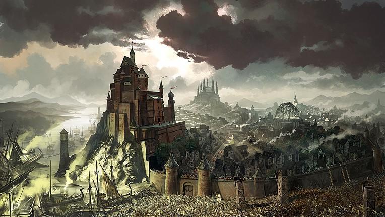Tomasz Jedruszeks想象中的君临城