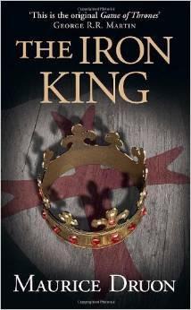 """《铁国王》(The Iron King)是《受诅咒的君王》的第一卷,马丁将这一系列称为""""《权力的游戏》之原型"""""""