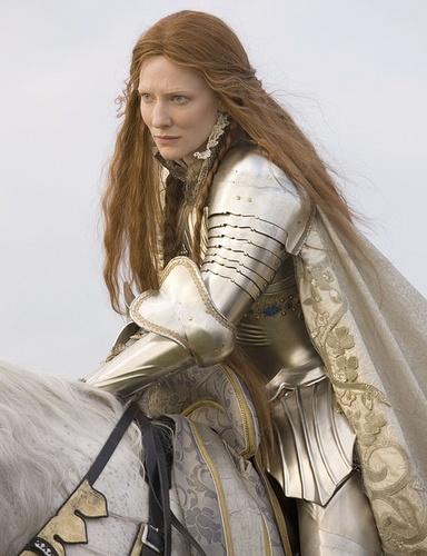 凯特·布兰切特主演的电影《伊丽莎白:黄金时代》