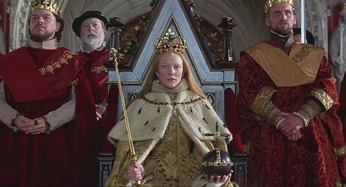 凯特·布兰切特主演的电影《伊丽莎白》