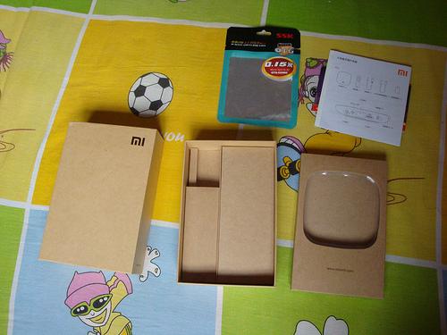 小米盒子-包装盒拆解