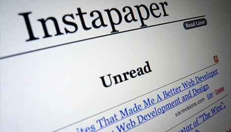 稍后阅读应用:Instapaper