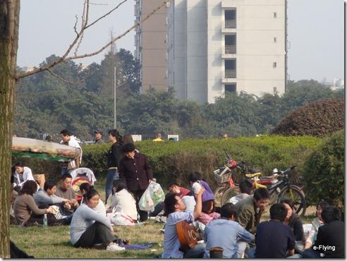 我们的心情都和这天气一般好|艳阳天——悠闲的川大望江校区