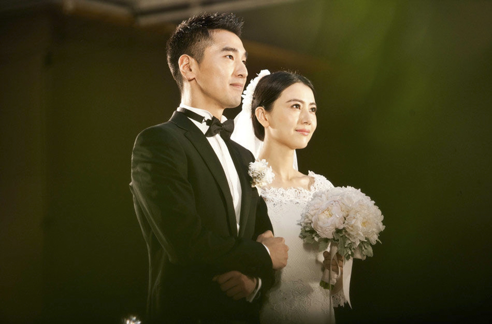2014年11月28日,赵又廷和高圆圆在台北举行婚礼