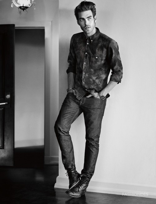 7 For All Mankind Fall 2014 Campaign