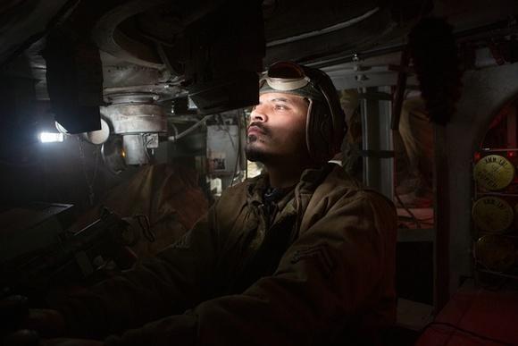 """驾驶员""""戈多""""负责机车驾驶"""