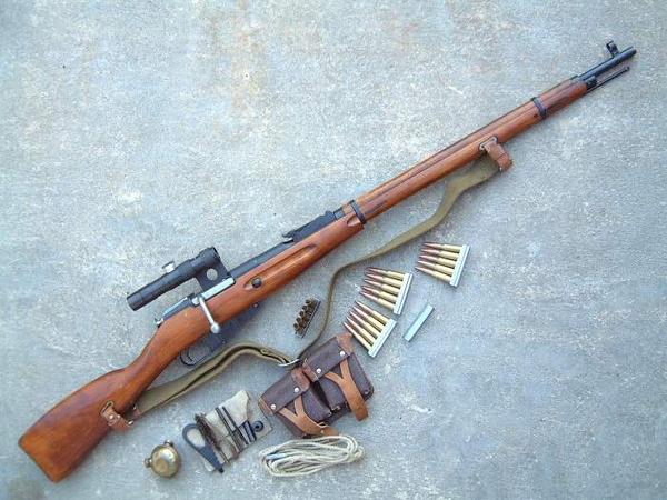 莫辛纳甘狙击步枪