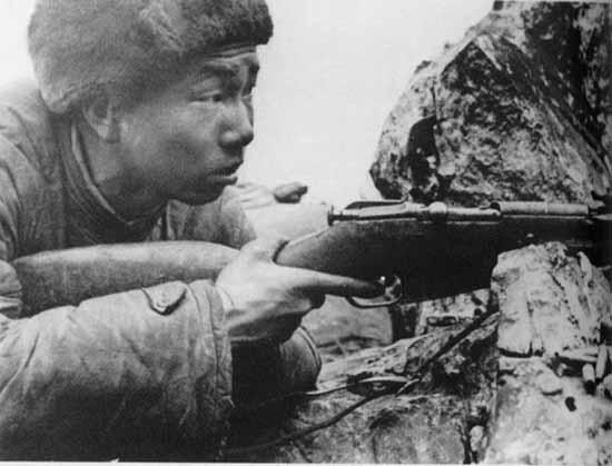 志愿军狙击英雄张桃芳