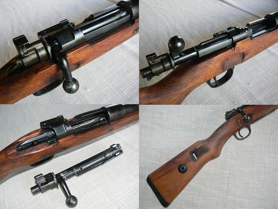 98K 毛瑟步枪细节