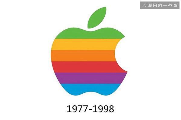 詹诺夫设计的苹果logo还包含了彩虹背景。