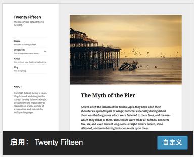 WordPress-Twenty Fif****主题