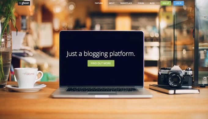 Ghost - Just a blogging platform