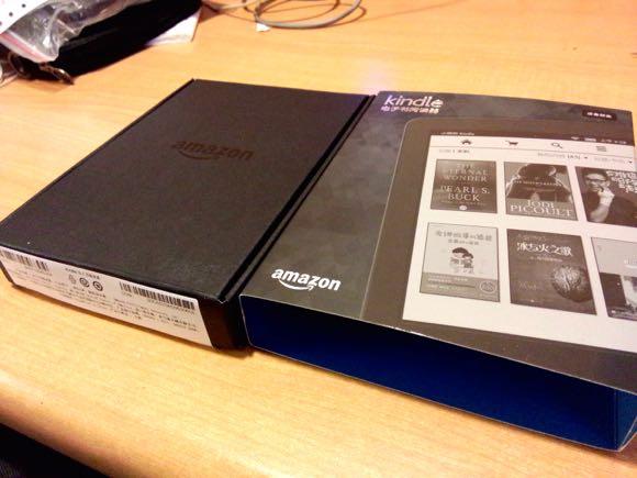 kindle开箱-黑色的外包装