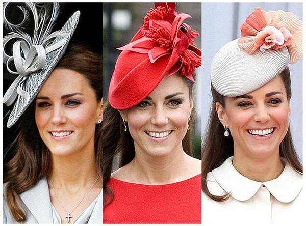 英国凯特王妃kate佩戴的帽子