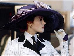 《泰坦尼克号》中Rose佩戴的帽子
