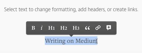 Medium编辑界面的格式工具条 Snip20150403_8