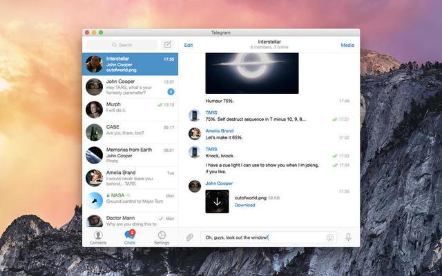Telegram By Telegram Messenger LLP(主打安全的即时通讯聊天)
