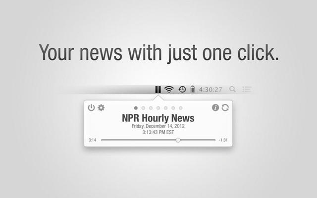 Hourly News By Urban Apps(听新闻)