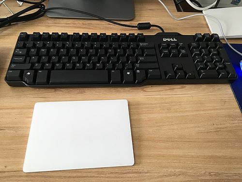 戴尔 SK-8115 旭丽代工 有线游戏键盘