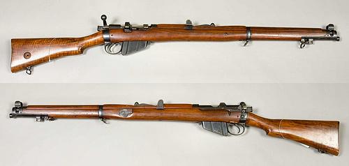恩菲尔德短步枪 NO1型一战及二战早期