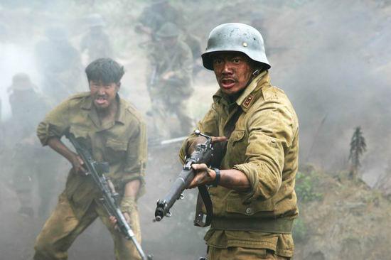 《我的团长我的团》剧照——恩菲尔德NO1短步枪
